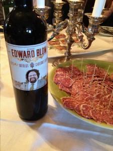 Edward Bloms nya rödvin